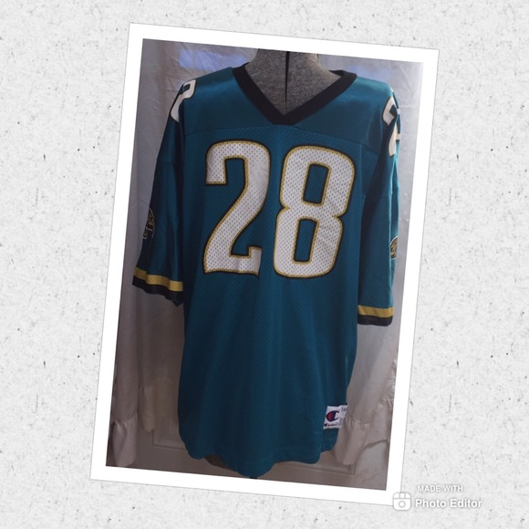 Nice Champion Shirts | Nfl Jacksonville Jaguars Football Jersey Taylor 28  free shipping